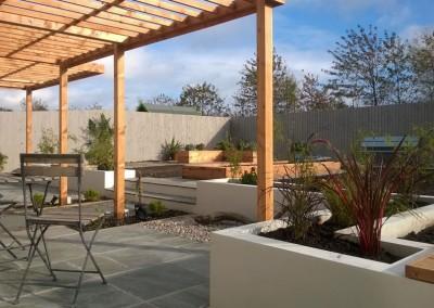 Garden with pergola, Dalkeith
