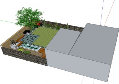 Design for Contemporary Garden