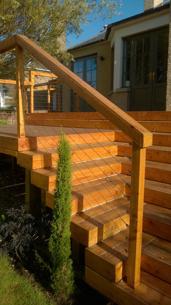 Paul Church Gardens - Decking
