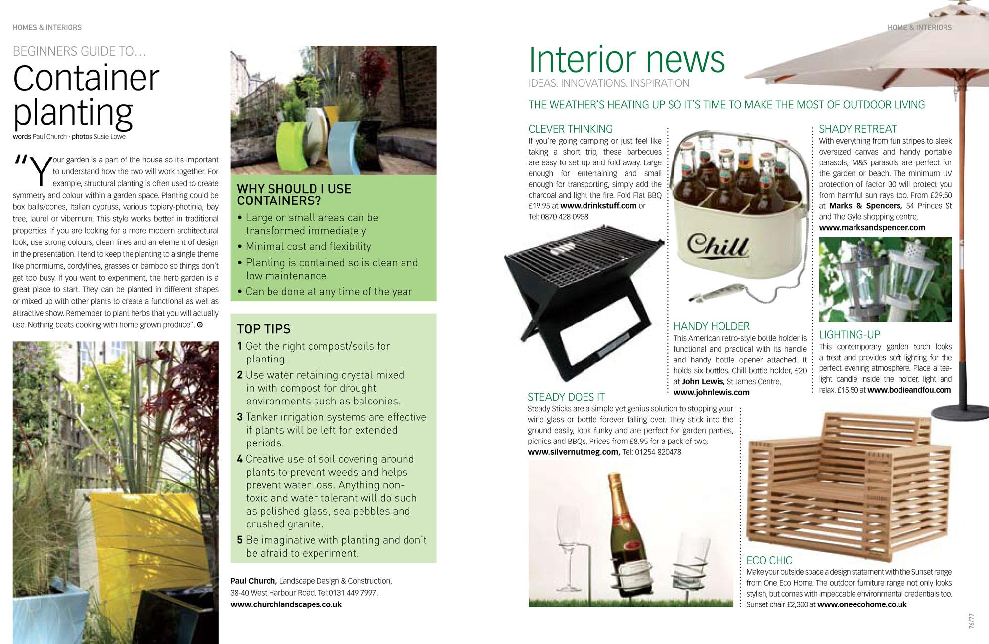 I-ON magazine EDINBURGH