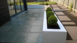 Completed Edinburgh garden design and build