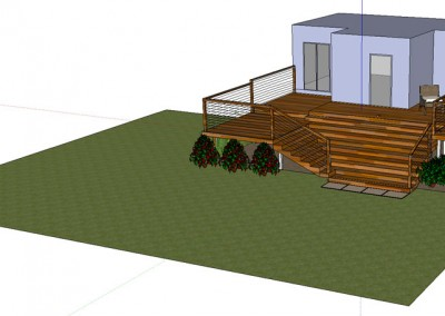 Design for Decking Garden