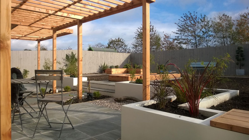 Creative garden desing, build and planting