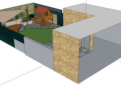 Design for Merchiston Garden in Edinburgh