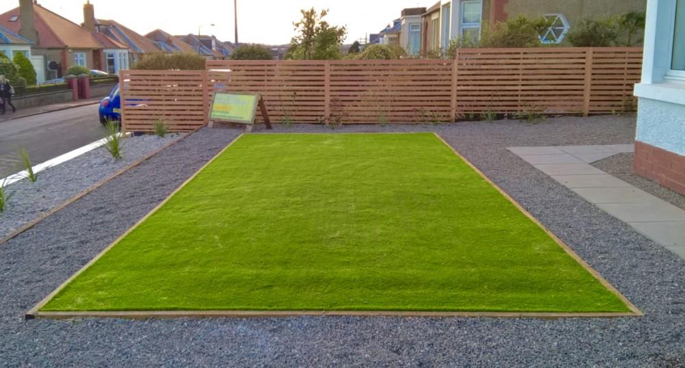Artificial lawn services, Edinburgh, Garden design, landscaping services, Edinburgh