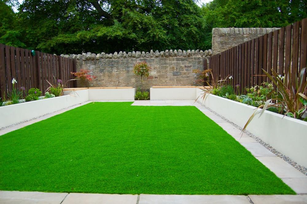 artificial lawn services, Edinburgh, garden design, Scottish garden designer, lawns, planting, decking, edinburgh.